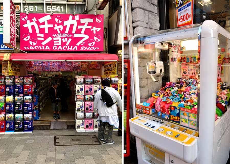 Akihabara novelty shops