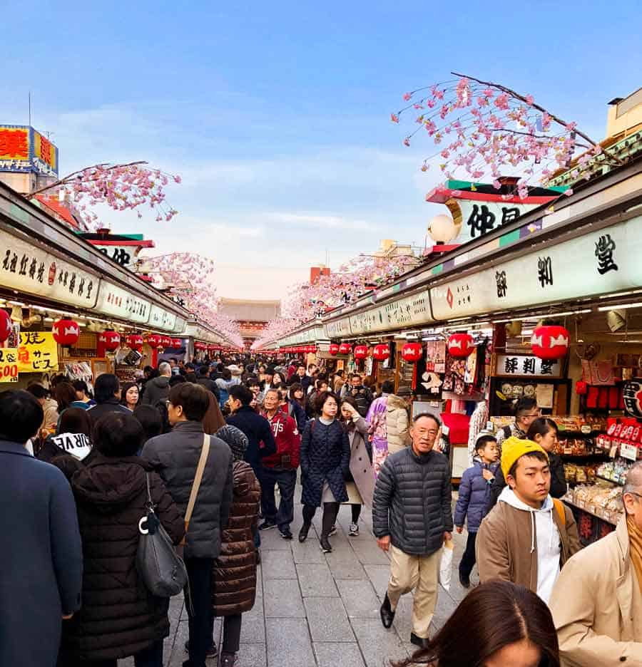 Asakusa Shopping - Nakamise shopping street