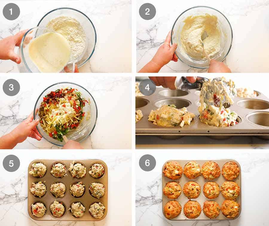 How to make amazing Savoury Muffins