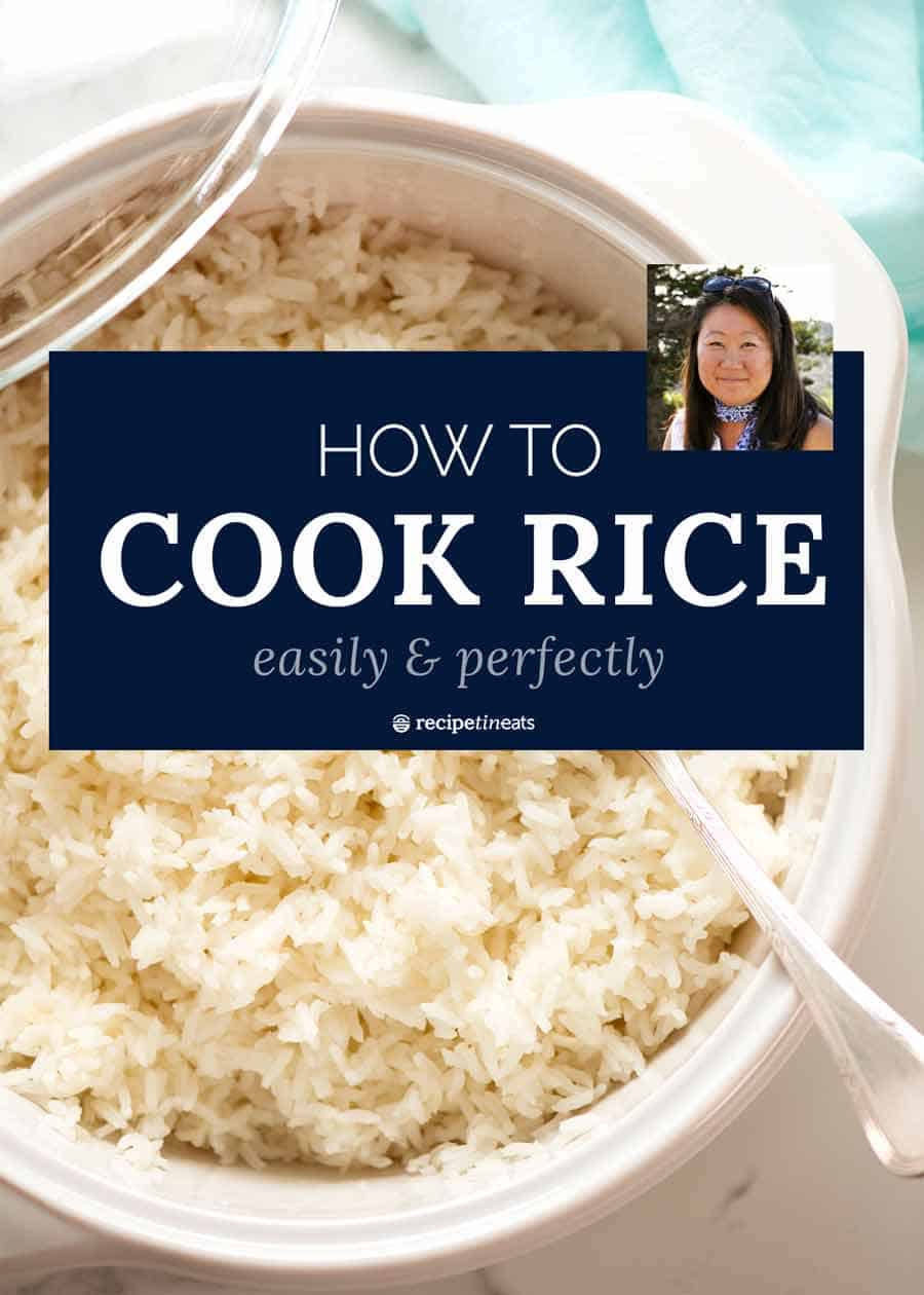 How to cook rice featured image graphic