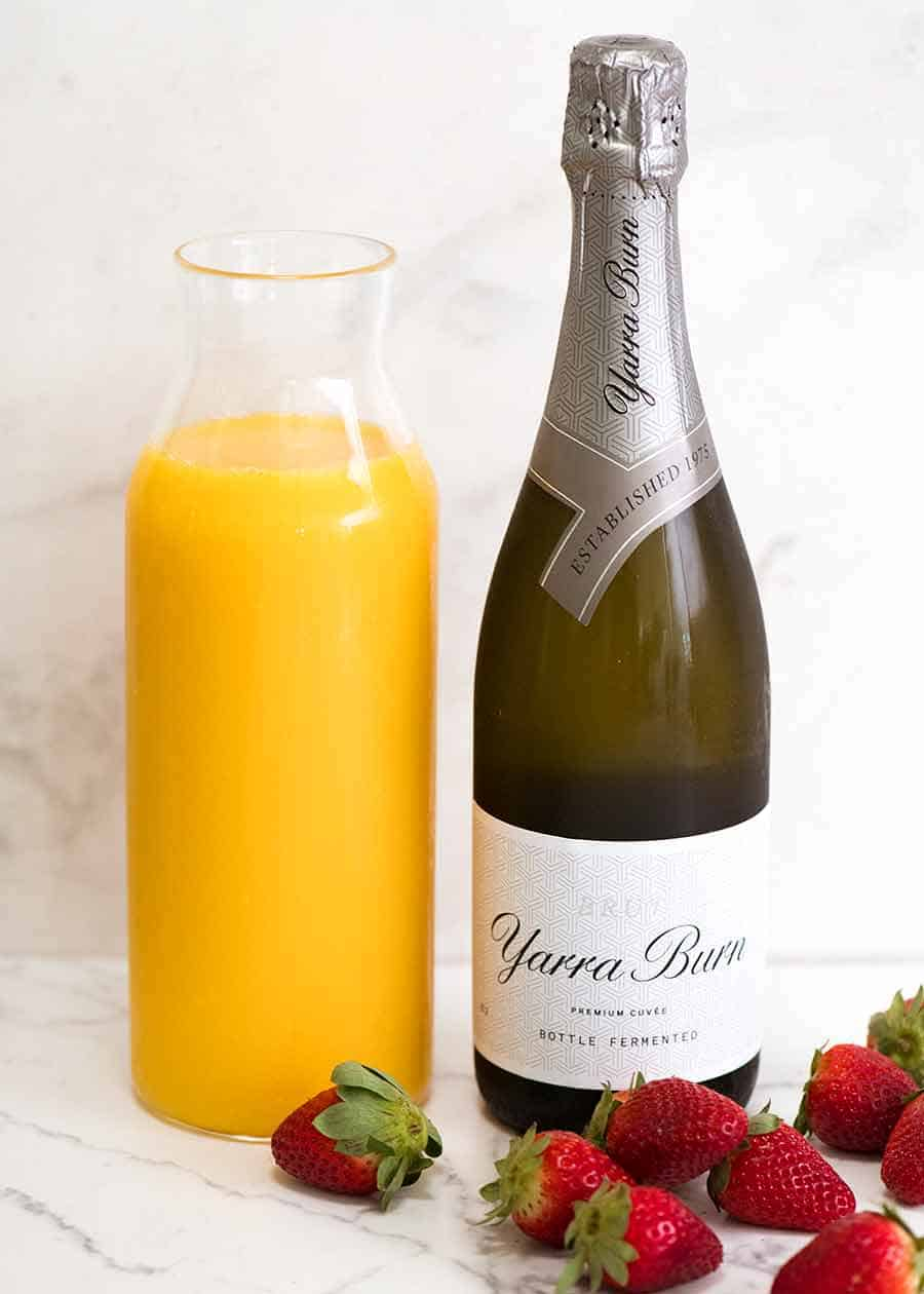 What type of champagne for Mimosas - brut sparkling wine