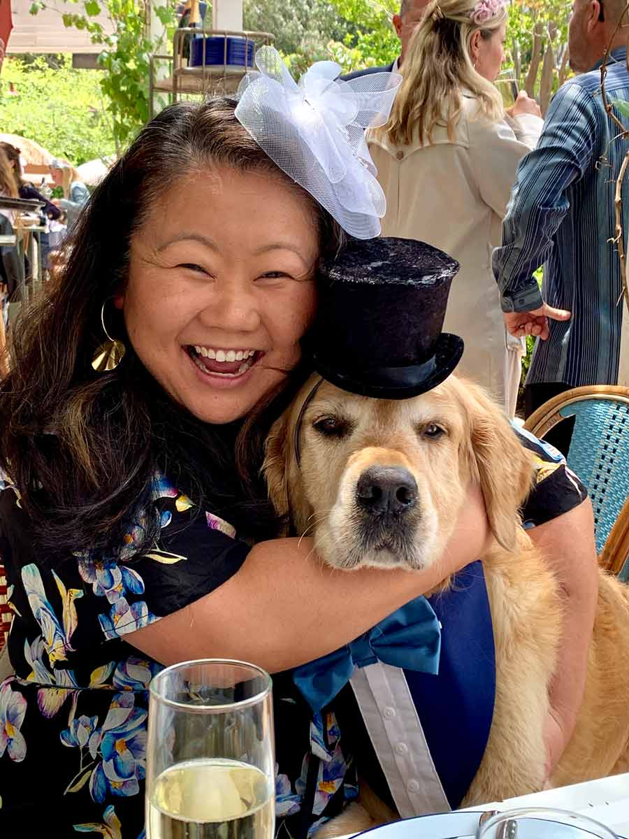 Dozer and Nagi Melbourne Cup 2019