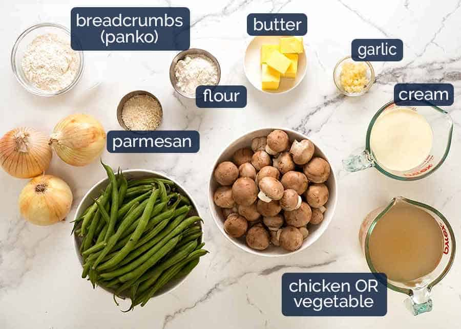 What goes in Green Bean Casserole