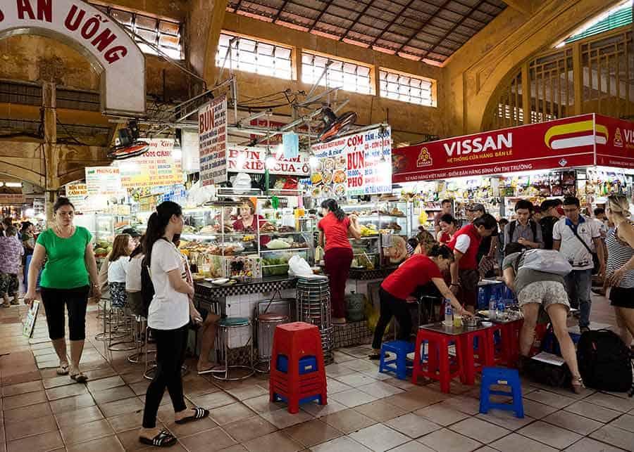 Ben Thanh Markets in Ho Chi Minh City, Vietnam