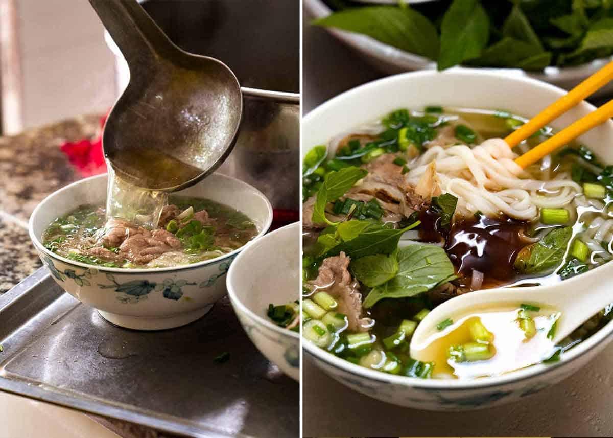 Best Pho in Ho Chi Minh City Vietnam - Pho Tau Bay