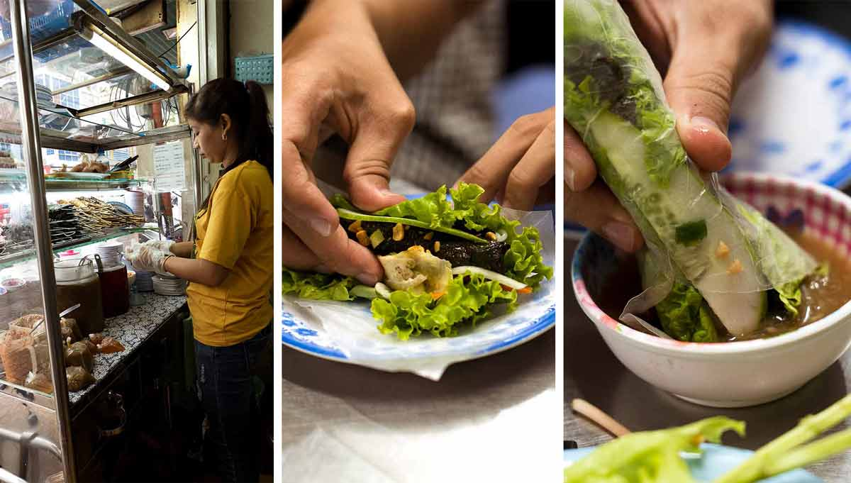 Best Bo La Lot in Ho Chi Minh City - Restaurant Co Lien