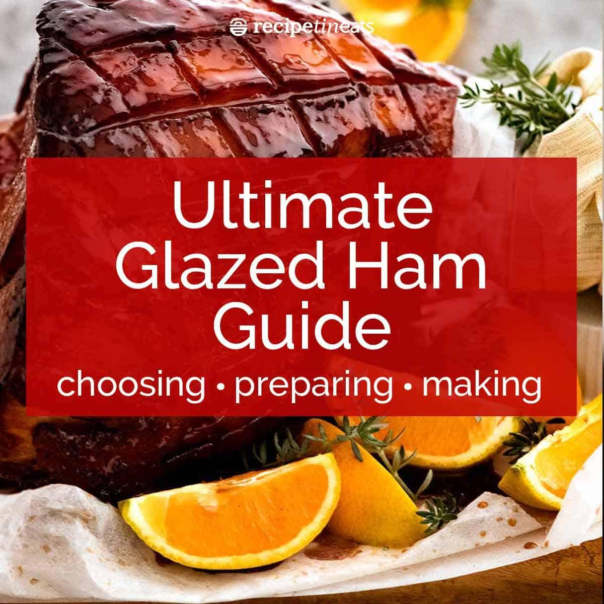 How to make Glazed Ham - baked ham for Christmas