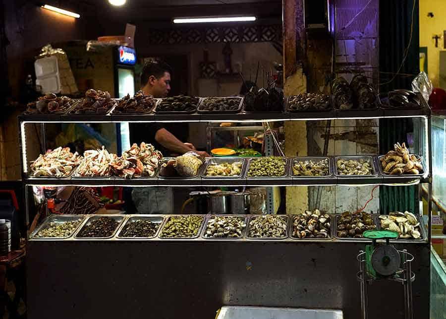 Vietnamese Sea Snails Dish - Oc An in Ho Chi Minh City, Vietnam