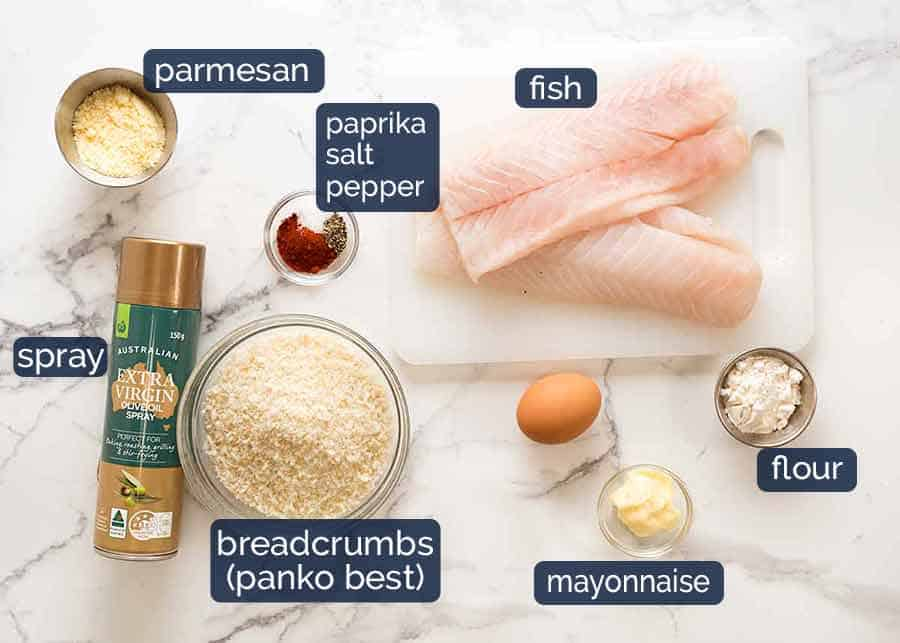 What goes in homemade Fish Fingers