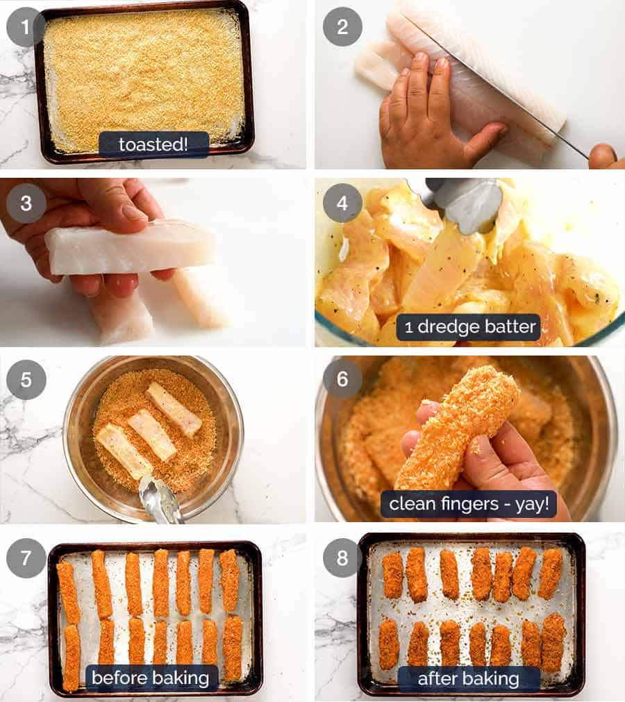 How to make homemade fish fingers