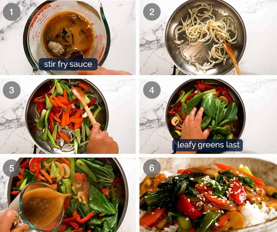 How to make Stir Fried Vegetables