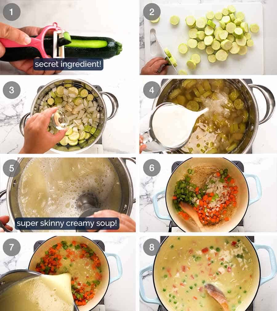 How to make an amazing creamy healthy soup